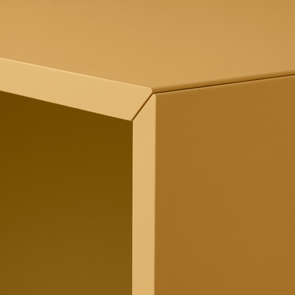 EKET Cabinet with 4 compartments, golden-brown, 70x35x70 cm