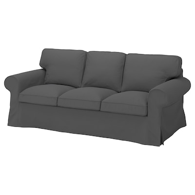 EKTORP 3-seat sofa, Hallarp grey