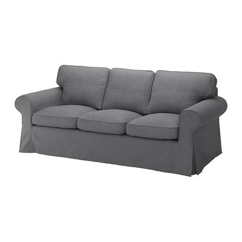 Ikea Ektorp Recamiere : ektorp three seat sofa nordvalla dark grey ikea ~ A.2002-acura-tl-radio.info Haus und Dekorationen