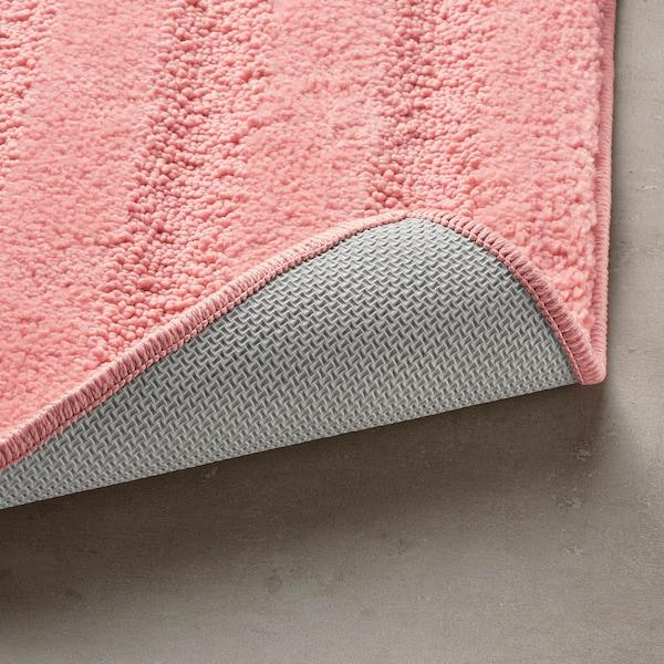 EMTEN Bath mat, light pink, 50x80 cm