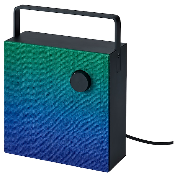 ENEBY Front for bluetooth speaker, green, 20x20 cm