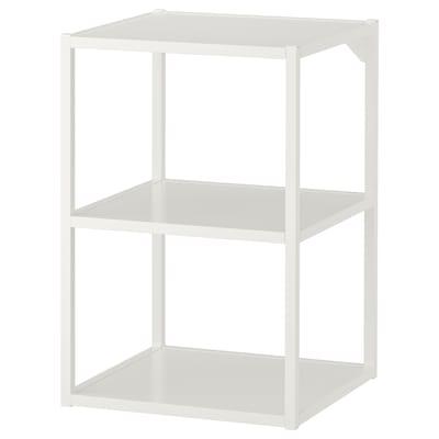 ENHET Base fr w shelves, white, 40x40x60 cm