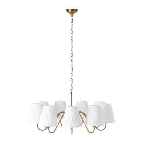 esarp chandelier 9 armed ikea