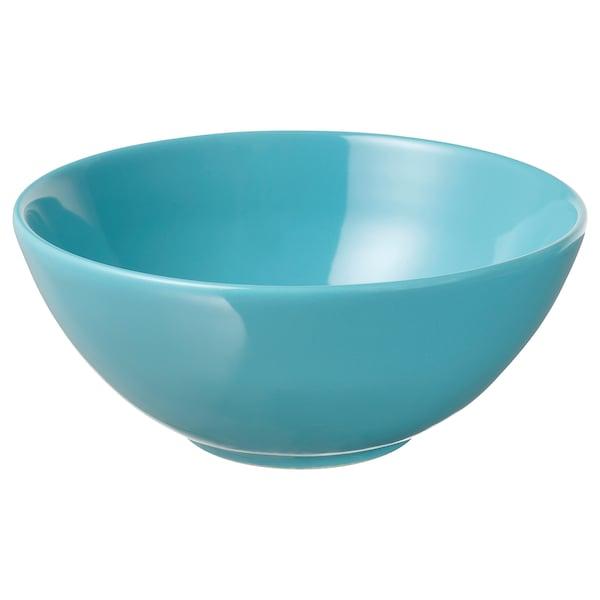 FÄRGRIK bowl turquoise 7 cm 16 cm