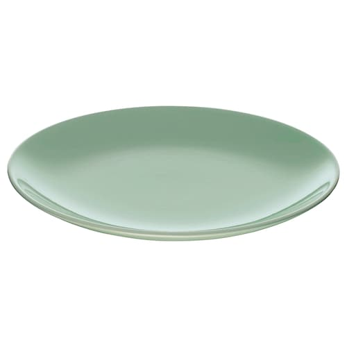 FÄRGRIK side plate light green 21 cm