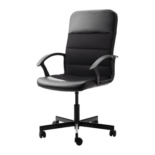 FINGAL Swivel chair IKEA You sit comfortably since the chair is adjustable in height.