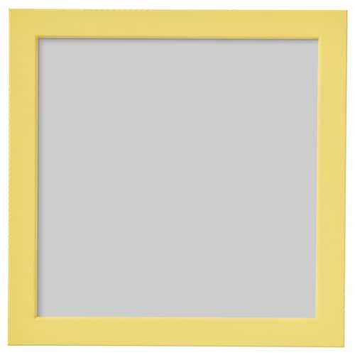 FISKBO frame yellow 21 cm 21 cm 24 cm 24 cm
