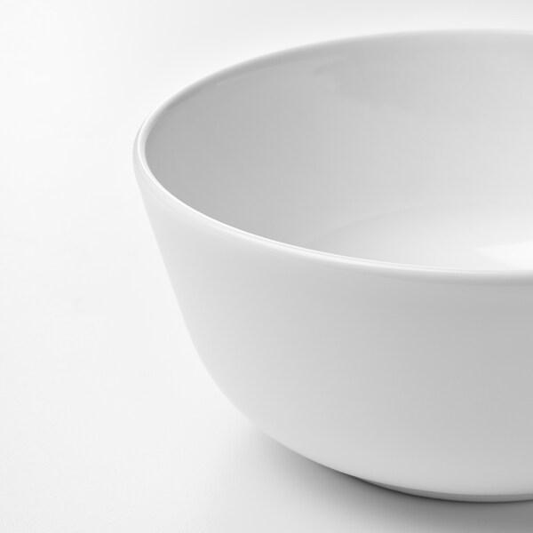 FLITIGHET Bowl, white, 14 cm