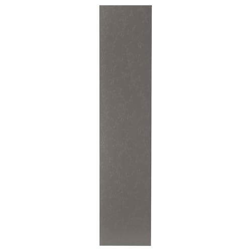FLORNES door dark grey 49.5 cm 229.4 cm 236.4 cm 2.0 cm