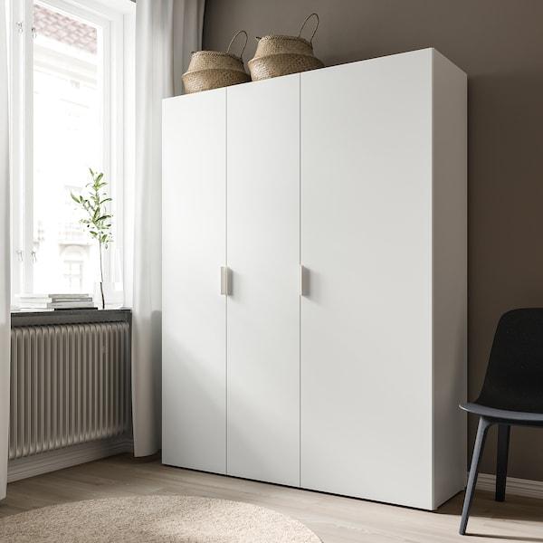 FONNES باب بمفصلات, أبيض, 40x180 سم