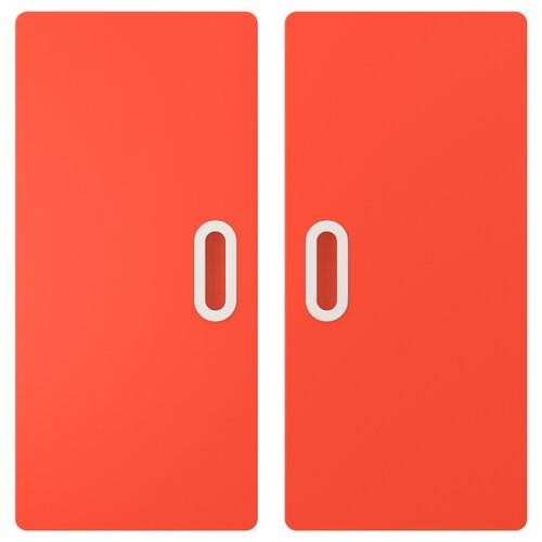 FRITIDS door red 60.0 cm 64.0 cm 2 pack