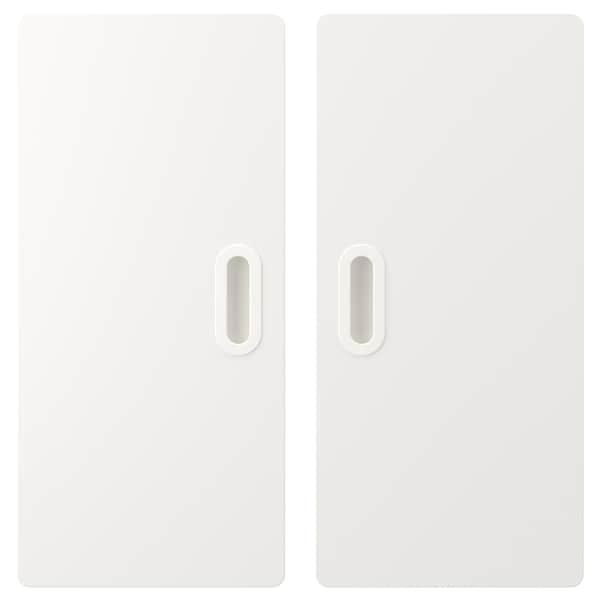 FRITIDS باب, أبيض, 60x64 سم 2 قطعة