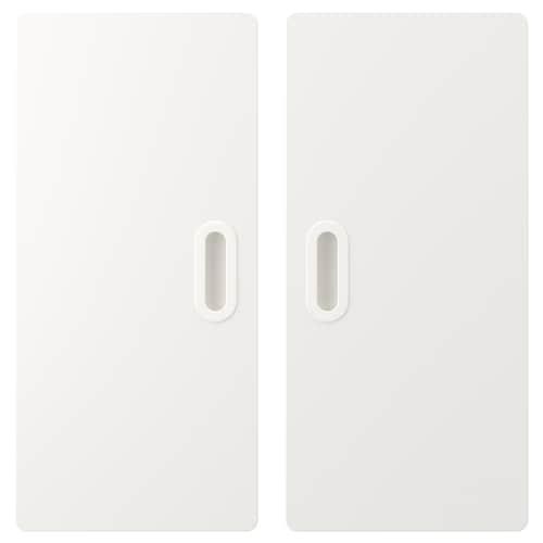 FRITIDS door white 60.0 cm 64.0 cm 2 pack