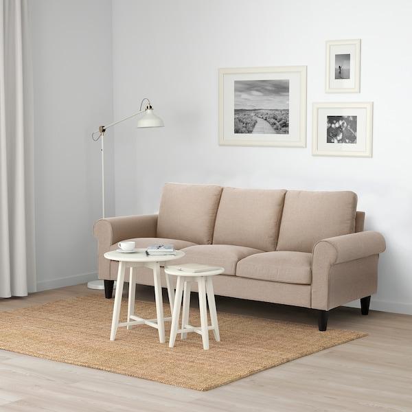 GAMMALBYN 3-seat sofa, beige
