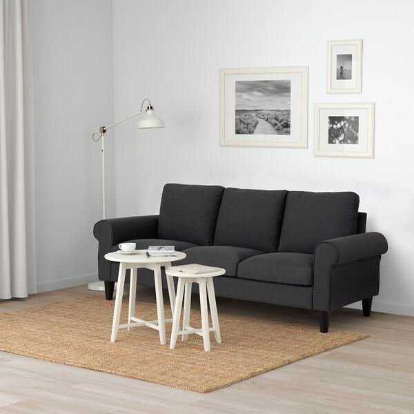 GAMMALBYN 3-seat sofa, grey