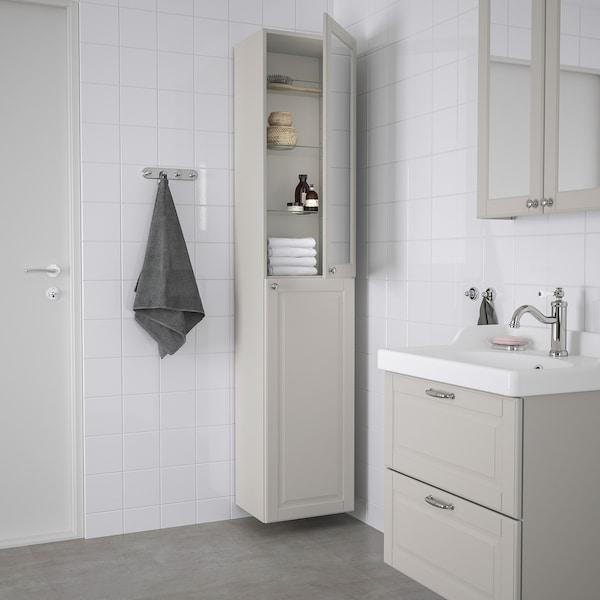 Godmorgon خزانة عالية Kasjon رمادي فاتح Ikea