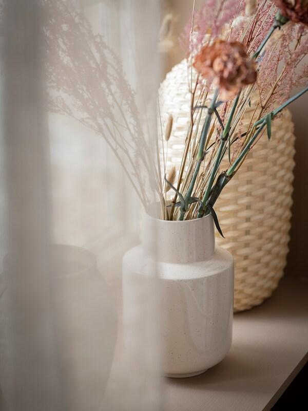 GRADVIS vase beige 24 cm