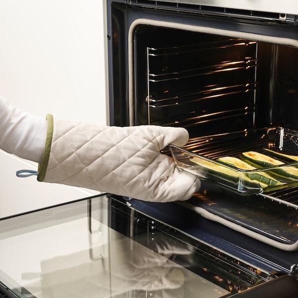 GRILLTIDER Oven glove, off-white