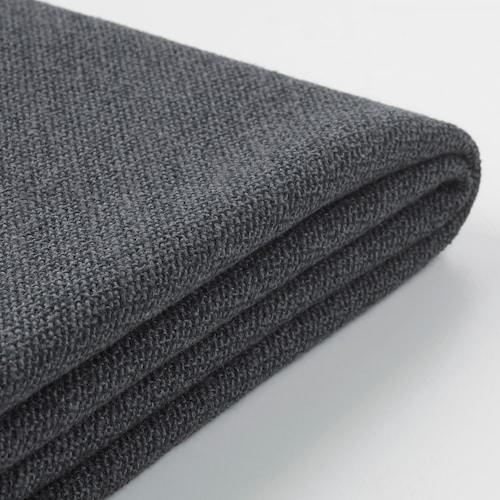 GRÖNLID cover for 2-seat sofa Sporda dark grey