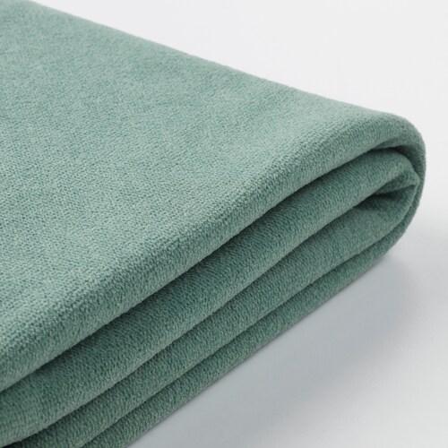 GRÖNLID cover for corner sofa, 3-seat with open end/Ljungen light green