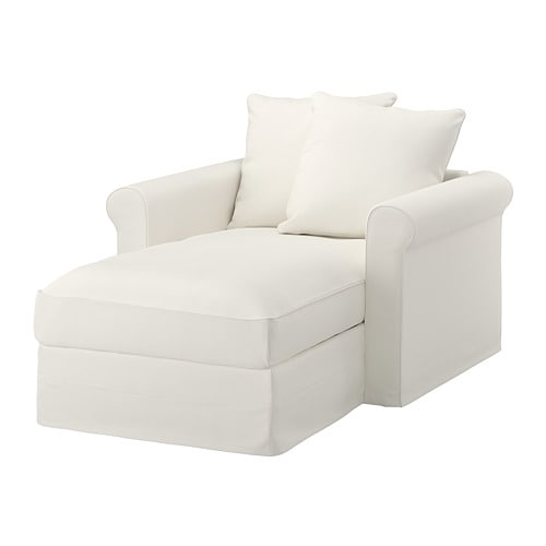 gr nlid chaise longue inseros white ikea. Black Bedroom Furniture Sets. Home Design Ideas