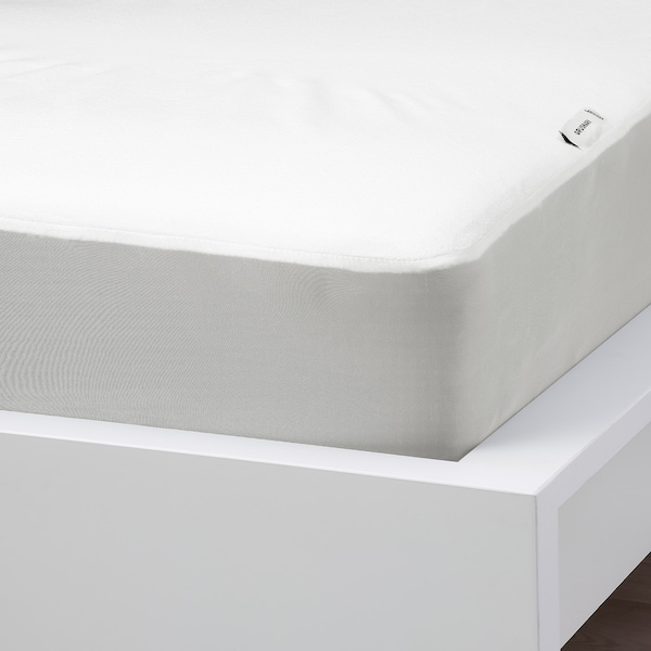 GRUSNARV Waterproof mattress protector, 90x200 cm
