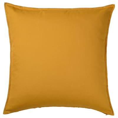 GURLI Cushion cover, golden-yellow, 65x65 cm