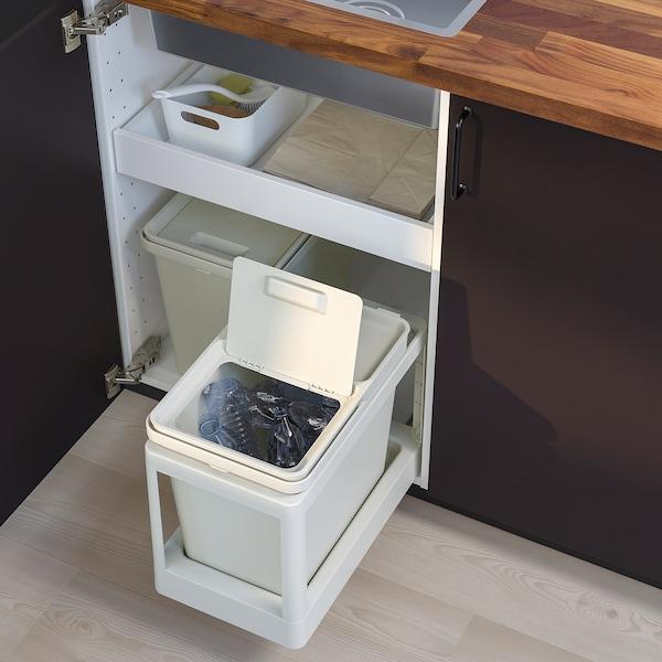 HÅLLBAR إطار قابل للسحب لفرز النفايات, رمادي فاتح