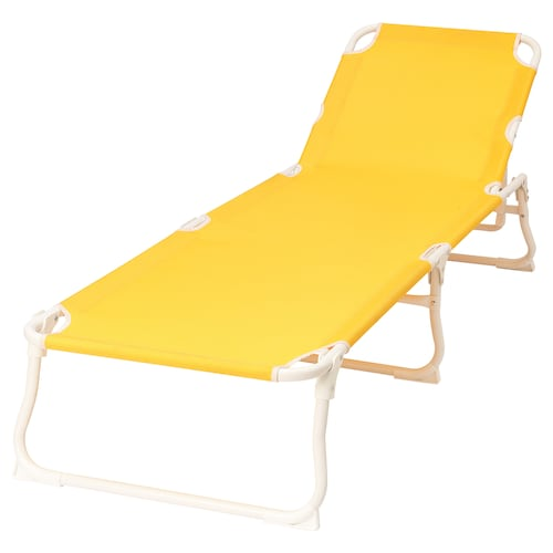 HÅMÖ sun lounger yellow 190 cm 59 cm 28 cm 100 kg 6.50 kg