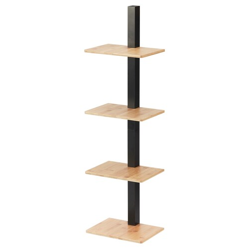 IKEA HAPARANDA Wall shelf, 4 shelves