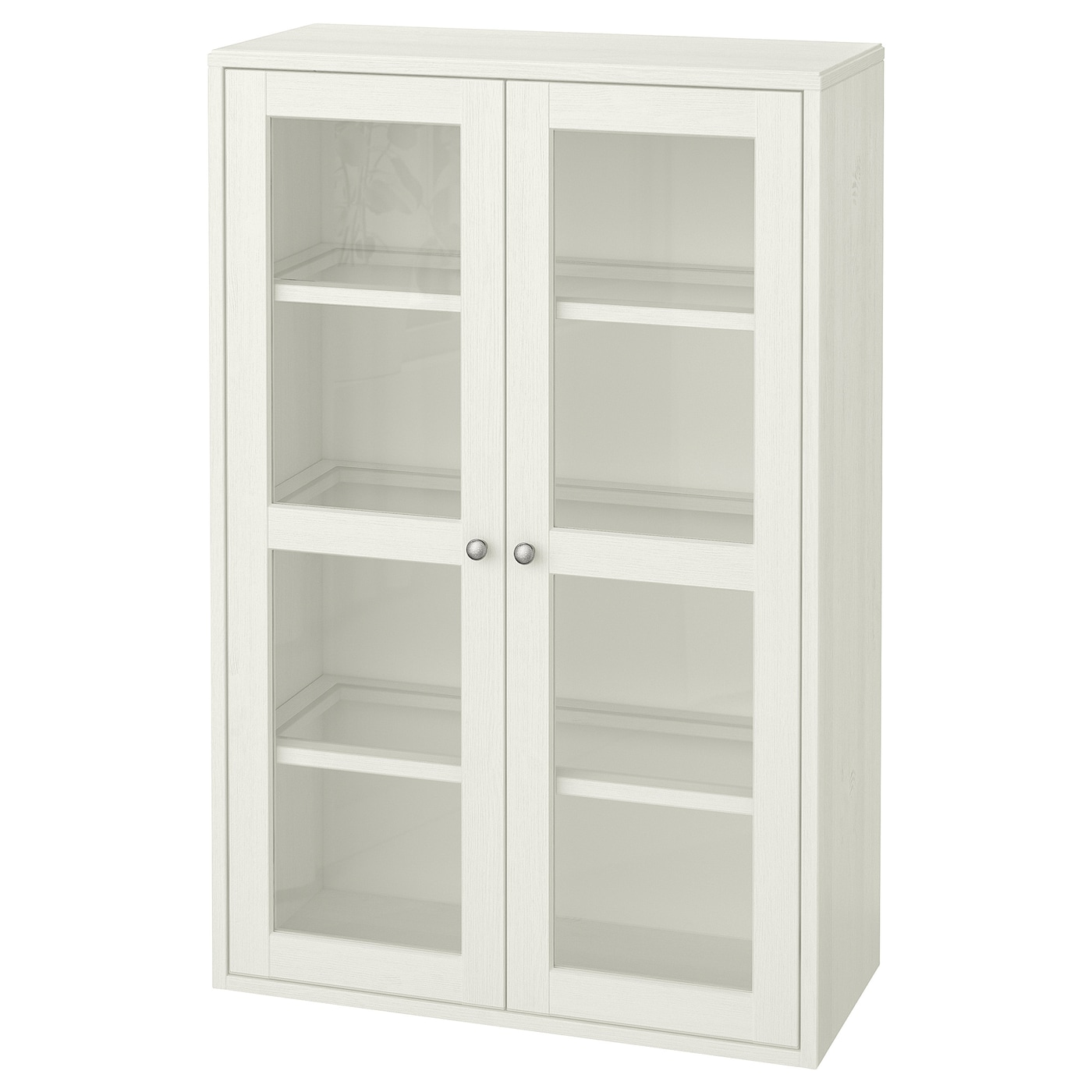 HAVSTA Glass-door cabinet - white - IKEA