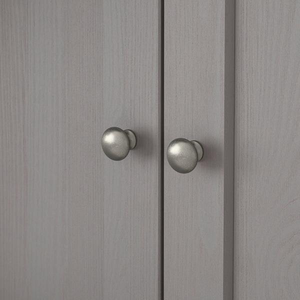 HAVSTA Storage combination, grey, 162x37x134 cm