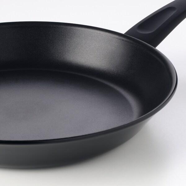 HEMLAGAD 6-piece cookware set, black