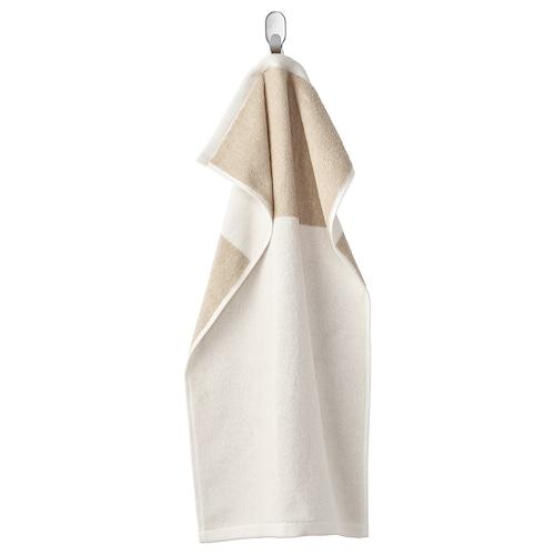 HIMLEÅN hand towel beige/mélange 500 g/m² 70 cm 40 cm 0.28 m²