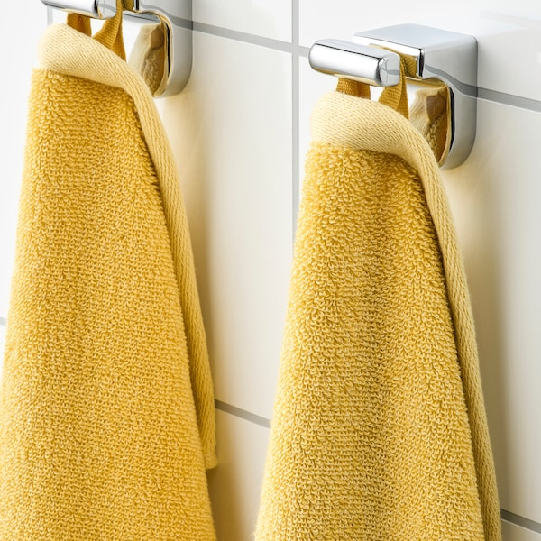 HIMLEÅN washcloth yellow/mélange 500 g/m² 30 cm 30 cm 0.09 m²