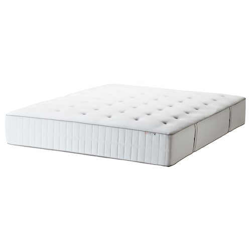 HOKKÅSEN pocket sprung mattress firm/white 200 cm 140 cm 31 cm