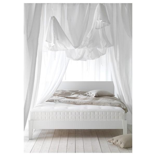 HYLLESTAD Pocket sprung mattress, medium firm/white, 90x200 cm