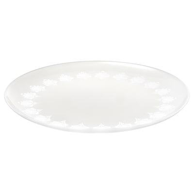 INBJUDEN Side plate, frosted glass, 21 cm