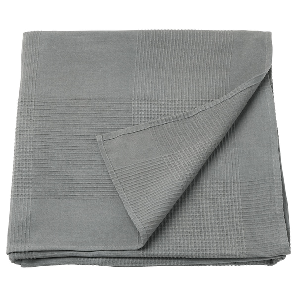 INDIRA Bedspread, grey, 150x250 cm