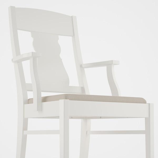INGATORP / INGATORP طاولة و4 كراسي, أبيض, 155 سم