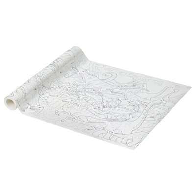 JÄTTELIK Colouring paper roll, 10 m