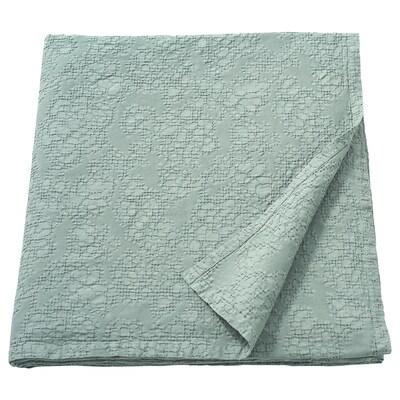 JÄTTELOKA Bedspread, green, 150x250 cm