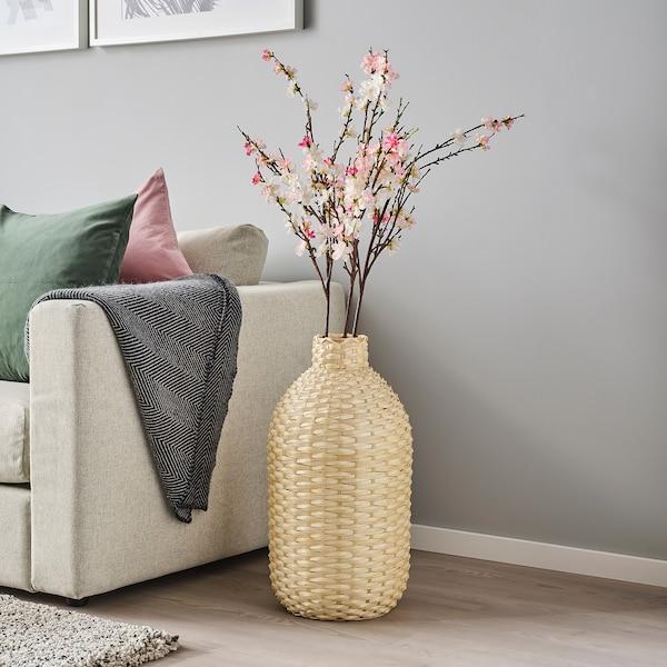 KAFFEBÖNA Decoration vase, bamboo, 60 cm