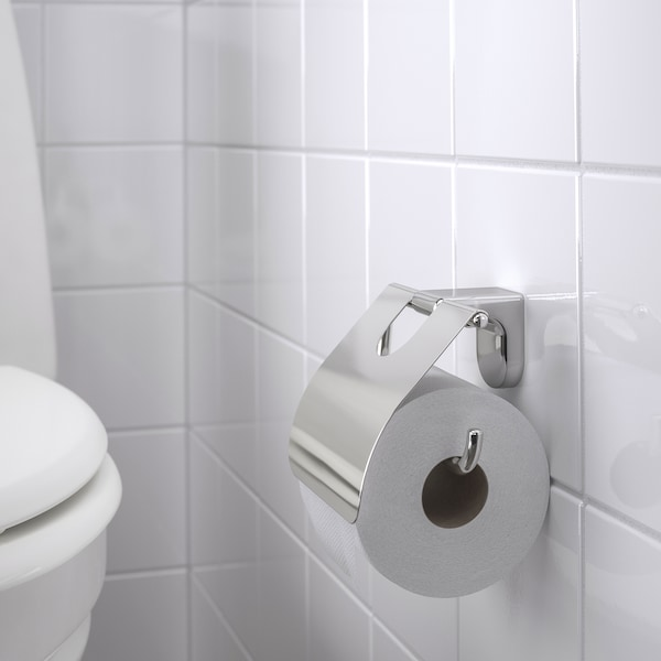 KALKGRUND حامل مناديل حمام, طلاء كروم