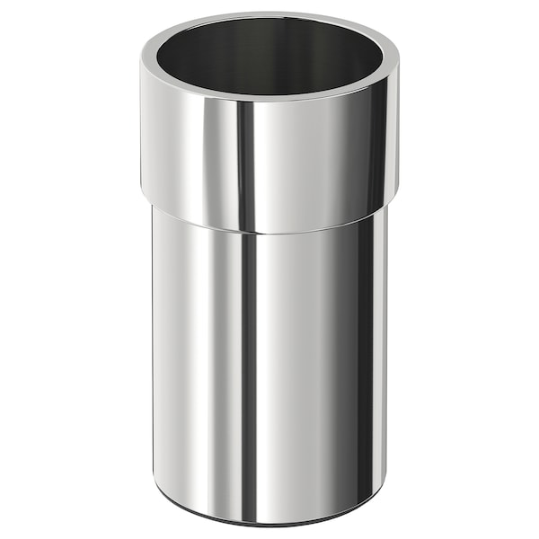 KALKGRUND toothbrush holder chrome-plated 13 cm