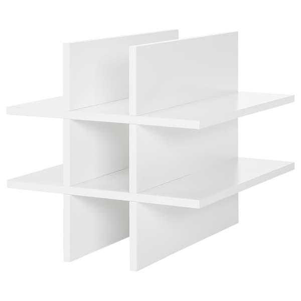 KALLAX درج للزجاجات, أبيض, 33x33 سم