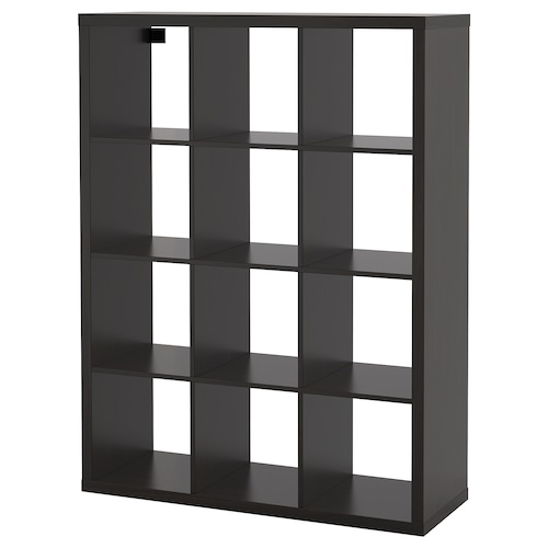 KALLAX shelving unit black-brown 112 cm 39 cm 147 cm 13 kg