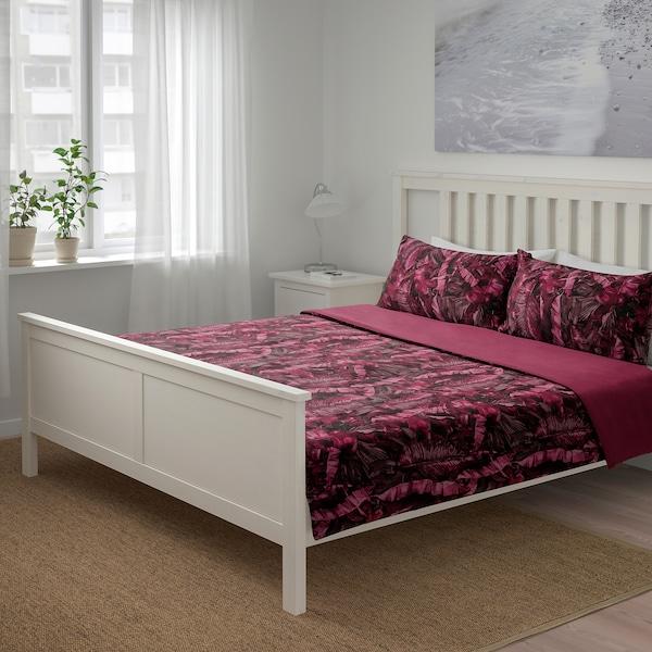 KALVNOS Duvet cover and 2 pillowcases, lilac, 240x220/50x80 cm