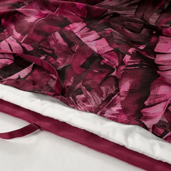 KALVNOS Duvet cover and pillowcase, lilac, 150x200/50x80 cm