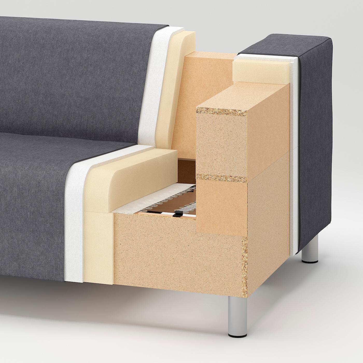 KLIPPAN Frame, 2-seat sofa, lining cloth